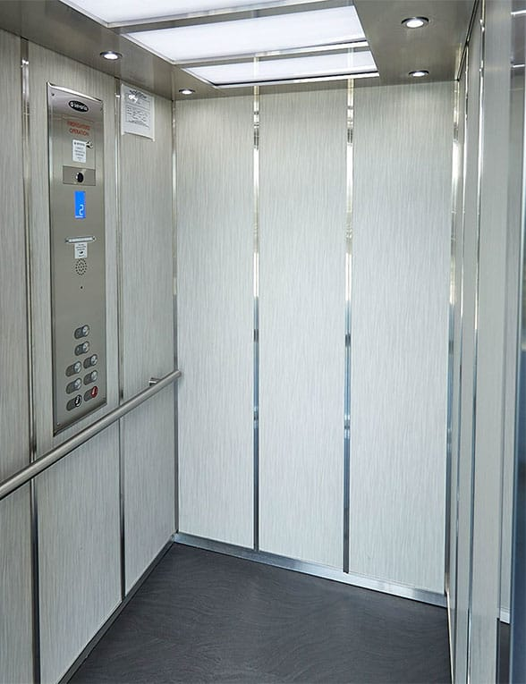 lula elevator is a perfect solution for churches, low-rise offices, and apartment complexes